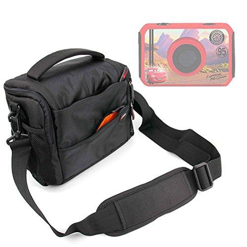 DURAGADGET Bandolera con Compartimentos para cámara de niño Ingo Devices Hello Kitty   Minni   Violetta   Sakar Hello Kitty - Asa Regulable