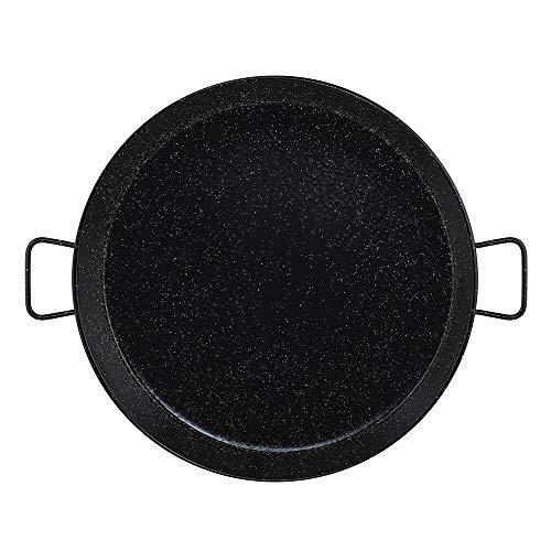 Metaltex Poêle à paella en acier émaillé 30 rations 70 cm