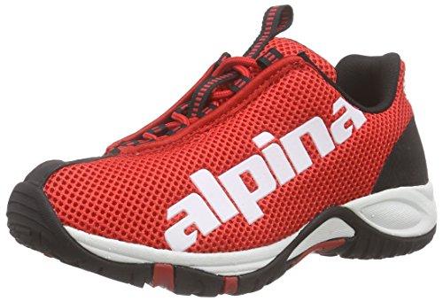 Alpina Unisex-Erwachsene 680267 Trekking- & Wanderhalbschuhe, Rot (red), 36 EU