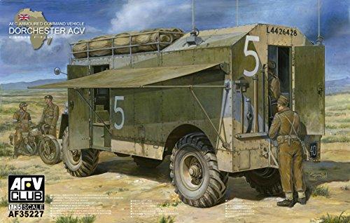 AEC [Dorchester] Armor conduct car (Plastic model)