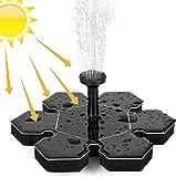 Fuente solar de bomba, fuente solar exterior de 1,5 W, bomba de...