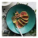 Ciotola Big dip spuntino ciotola stoviglie in ceramica creativa casa noodle zuppa ciotola ciotola di riso giapponese di insalata verde ciotola 9 pollici regalo ristorante di cucina della ciotola di mi