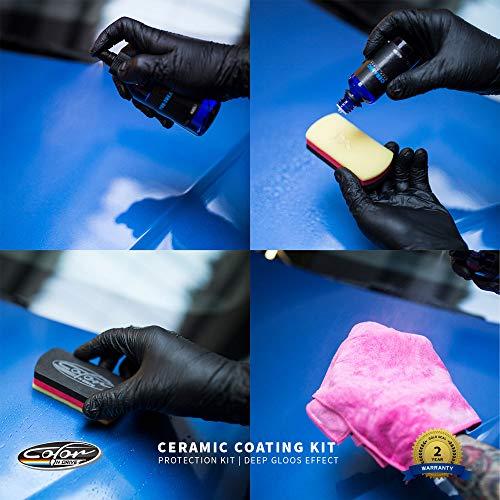 Color N Drive 9H Auto Keramik Versiegelung und Schutzset, hochglanz