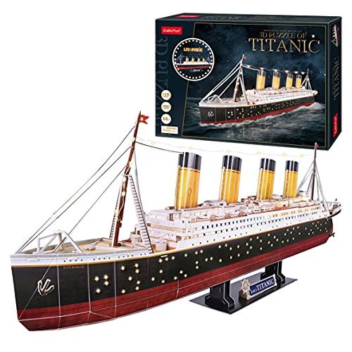 Maqueta Titanic para Montar, Puzzle 3D...