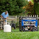 Photo #3: Propane Inverter Generator by Westinghouse [WGen9600DF] with Dual Fuel and Electric Start