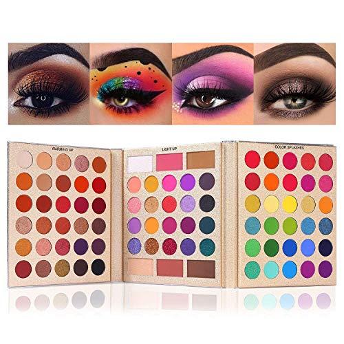 Paletas De Maquillaje Coloridos marca Salandens