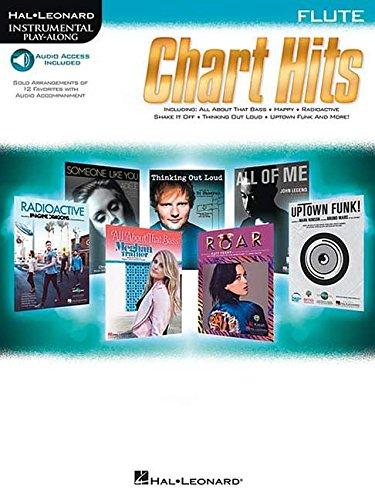 Chart Hits -For Flute- (Book & Online Audio): Play-Along, Sammelband, Download (Audio) für Flöte (Hal-leonard Instrumental Play-along)