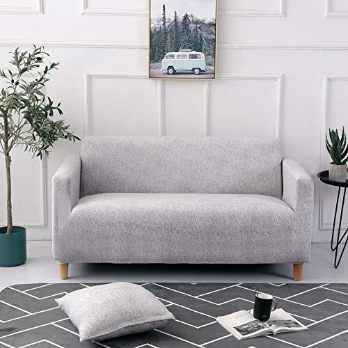 NOBCE Juego de Fundas de sofá elásticas de algodón Fundas de sofá universales para Sala de Estar, Mascotas, sillón, sofá de Esquina, Funda para sofá de Esquina 185-230CM