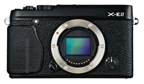 Fujifilm X-E2 16.3 MP Mirrorless Digital Camera with 3.0-Inch LCD - Body Only (Black)