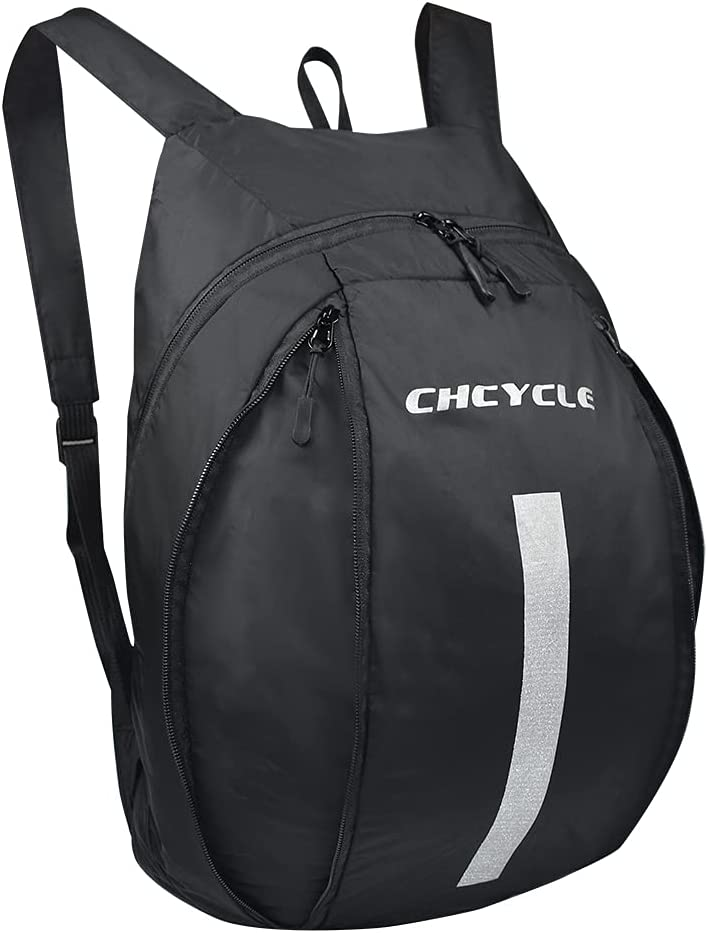 CHCYCLE Lightweight Motorcycle Backpack Waterproof Foldable Motorcycle Helmet Riding Backpack for Men: Automotive