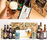 Pack bire Dcouverte Autour du Monde - 11 Bires du Monde + 1 verre et 1 guide dgustation - Spcial Cadeau Fte des Pres - 11 x 33cl - Moyenne ratebeer +90/100 - Une Petite Mousse