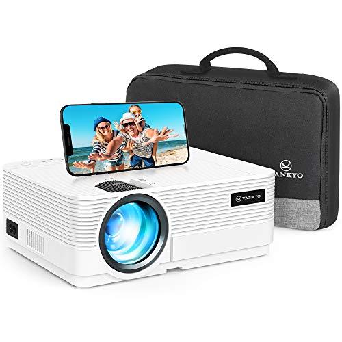 VAN KYO Leisure 470C Beamer Projektor, Unterstützung 1080P, HiFi-Lautsprecher, mit tragbarer Tasche, für iOS / Android / TV-Stick der Einstiegsklasse