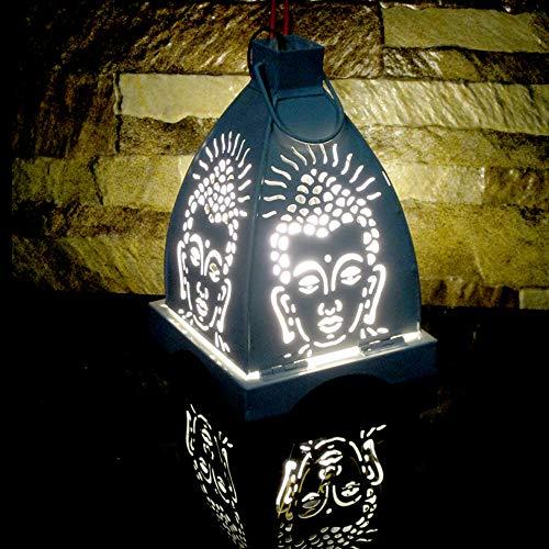 Buddha Decor Candle Holder Amitabha Votive Pillars Gautama Zen Tabletop Lantern Decorative Stand Tealight Home Office Decor Centerpiece Sconce