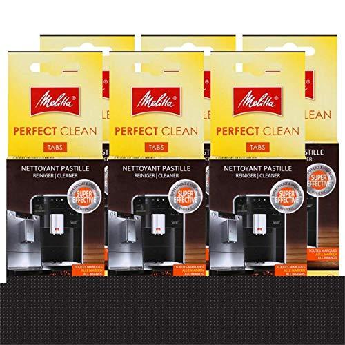 Melitta Perfect Clean Espresso Machines ReinigungsTabs 4x1,8g (6er Pack)