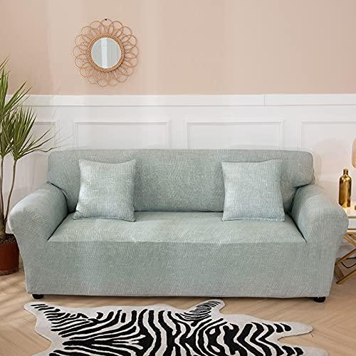 WXQY Funda de sofá elástica para Sala de Estar, Funda de sofá de Esquina en Forma de L, combinación de Funda de sofá de protección para Mascotas con Todo Incluido, A8 2 plazas