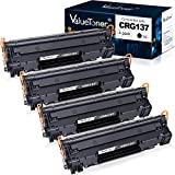 Valuetoner Compatible Toner Cartridge Replacement for Canon 137 9435B001AA to use with ImageClass D570 MF236n MF247dw LBP151dw MF227dw MF229dw MF216n MF232W MF217w LBP151dw MF249dw (Black, 4-Pack)