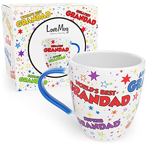 Love Mug: Grandad Mug For Grandad Birthday Gifts and Grandad Presents For Birthday, Father's Day, Beautiful Tea and Coffee Mug