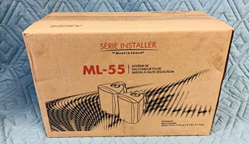 Best Buy! MartinLogan ML-55 Outdoor All-Weather speaker, pair (Black)