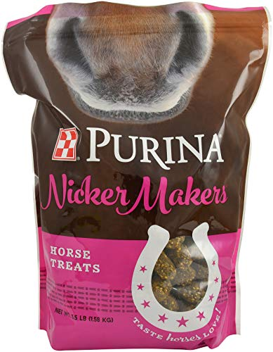 Purina | Nicker Makers Horse Treats | 3.5 Pound (3.5 lb) Bag
