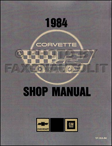 corvette factory service manual - 5