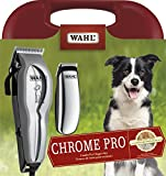 Wahl Chrome Pro Pet Clipper Kit, Trimmer for Paws and Face, for Most