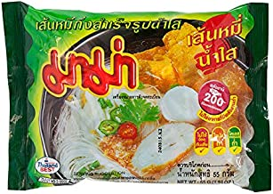 Mama, Instant Rice Vermicelli Clear Soup, net weight 55 g (Pack of 6 pieces) / Beststore by KK