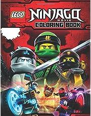 LEGO NINJAGO MOVIE Coloring Book: 31 Illustrations for Kids