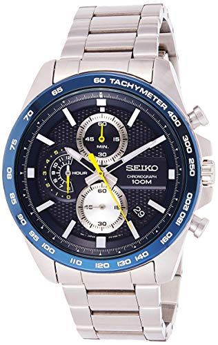 Seiko Reloj Cronógrafo para Hombre de Cuarzo con Correa en Acero Inoxidable SSB259P1