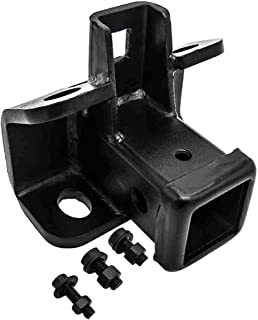 POWERWORKS Tow Towing Trailer Hitch Receiver Black for Land Rover LR3 2005-2009, LR4 2010-2016, Range Rover Sport 2006-2013