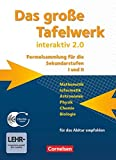 ISBN zu Das grosse Tafelwerk interaktiv 2.0 Mathematik, Informatik, Astronomie, Physik, Chemie, Biologie. Schuelerbuch mit CD-ROM. Westliche Bundeslaender: ... Ausgabe (außer Niedersachsen und Bayern))
