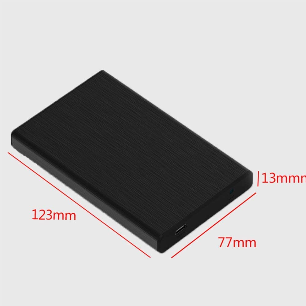 Disco Duro M/óvil Tama/ño : 1TB USB 3.0 Transferencia R/ápida Computadora De Memoria De Gran Capacidad Disco Duro Externo M/óvil Azul