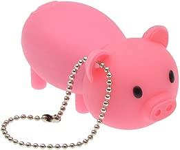 USB Flash Drive 16GB - USB 2.0 Memory Stick - Cartoon Rubber Piggy Pink Pig Thumb Drive Pendrive by FEBNISCTE