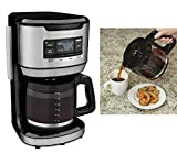 Hamilton Beach Programmable FrontFill Coffee Maker, Extra-Large 14 Cup Capacity, Black/Stainless (46392)