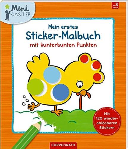 Mein erstes Sticker-Malbuch mit kunterbunten Punkten (Mini-Künstler)