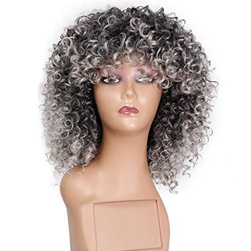 Perruque Dame Aux Cheveux Courts, Petit Volume Moelleux Synthétique De Qualité Supérieure avec Cheveux Courts
