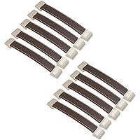 FBSHOP(TM) 10 Piezas Tiradores de cajón de Cuero Retro perillas/Asas/para maletín maletín de Vino Armario de Madera Caja de guardarropa Shoebox Hardware de Muebles