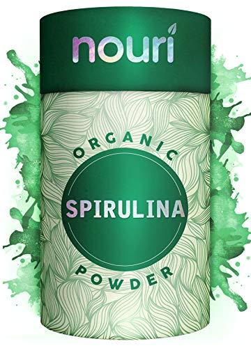 Bio Spirulina Pulver in Premiumqualität, 500g | zertifizierte Bio Qualität ohne Gentechnik | natürliches & veganes Protein mit Calcium, Magnesium, Eisen, Selen und B Vitaminen