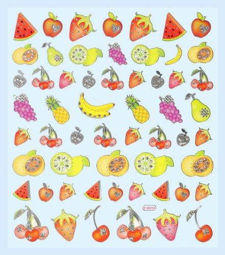 Hobby Design Sticker * Früchte Obst * Aufkleber 3452318