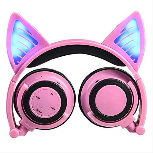 Cat Ears Glow Faltbares Headset Drahtloses Bluetooth-Headset