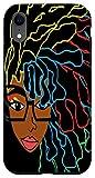 iPhone XR Natural Hair for Black Women Dreadlock Beauty Design 1 Case