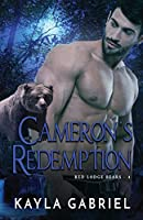 Cameron's Redemption: Large Print (Red Lodge Bears)