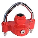 Trimax UMAX25 UMAX Red Universal Die Cast Dual Purpose Narrow Body Coupler Lock