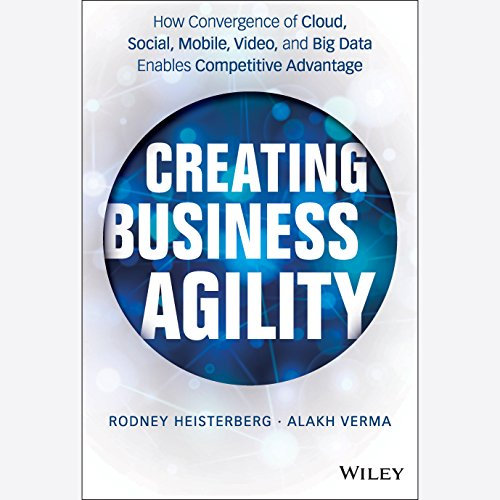 Creating Business Agility audiobook cover art