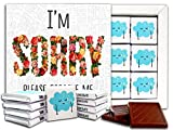 SORRY, Chocolate Gift Set, 5x5in, 1 box (Flowers Prime)