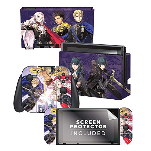 """Controller Gear Authentic and Official Licensed Nintendo Switch Skin - Fire Emblem """"Three Houses"""""""