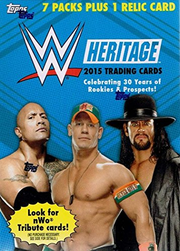 TOPPS COMPANY 2015 Topps WWE Heritage Value Box