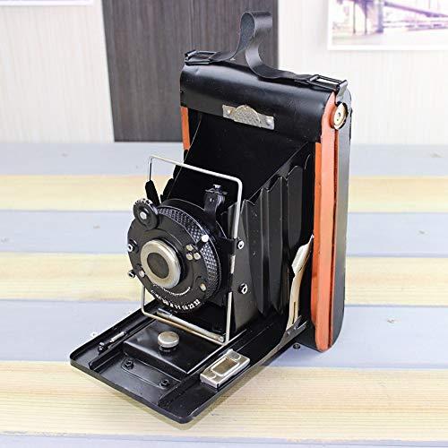 DAMAI STORE Eisen-Antike-Kamera Modell Antiquitäten Sammlungen kreative Hauptdekorationen Kamera Modell Simulationsmodell 13 * 19 * 22cm
