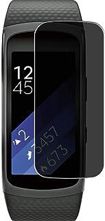 Vaxson Sekretess skärmskydd, kompatibel med Samsung Gear Fit 2 smartwatch smartklocka, anti-spionfilmskydd [inte härdat gl...