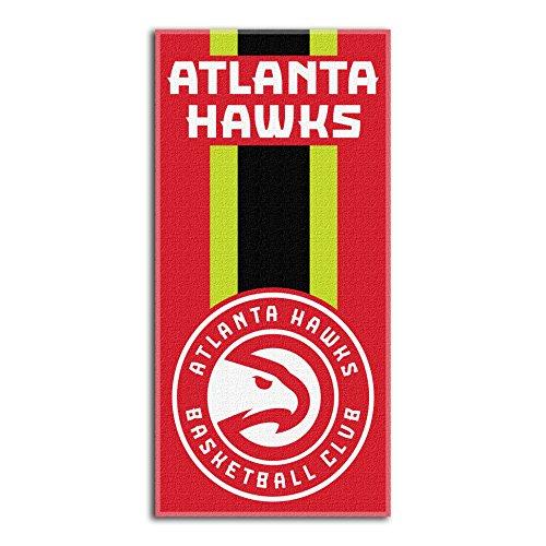 Northwest NBA Atlanta Hawks Beach Towel, 30 X 60 Inches