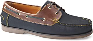 Samuel Windsor Men's Handmade Leather Slip-on and Lace-up Deck Shoes